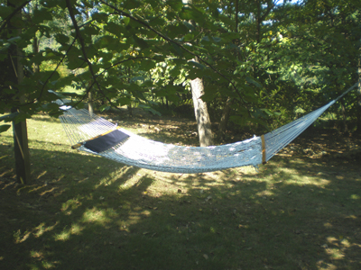 Hammock: Berkeley Springs Cabin Rental